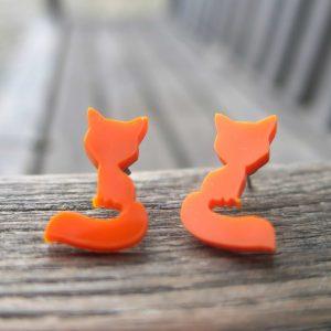 Oranžové lišky - puzety