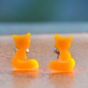 Žloutkové lišky do uší