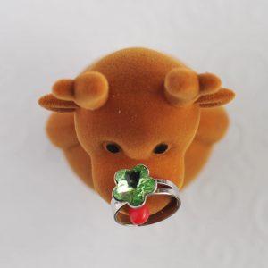 Dětský zelený prsten
