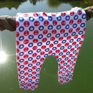 Dětské kalhoty s kotvami