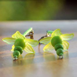 Zelené panenky