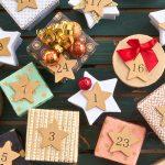 Adventní kalendář z krabiček od šperků
