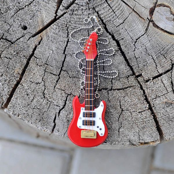 Elektrický kytarový náhrdelník