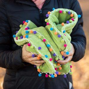 Dětská bambulková deka