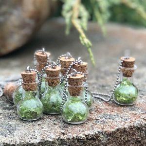 Náhrdelník s olivínem