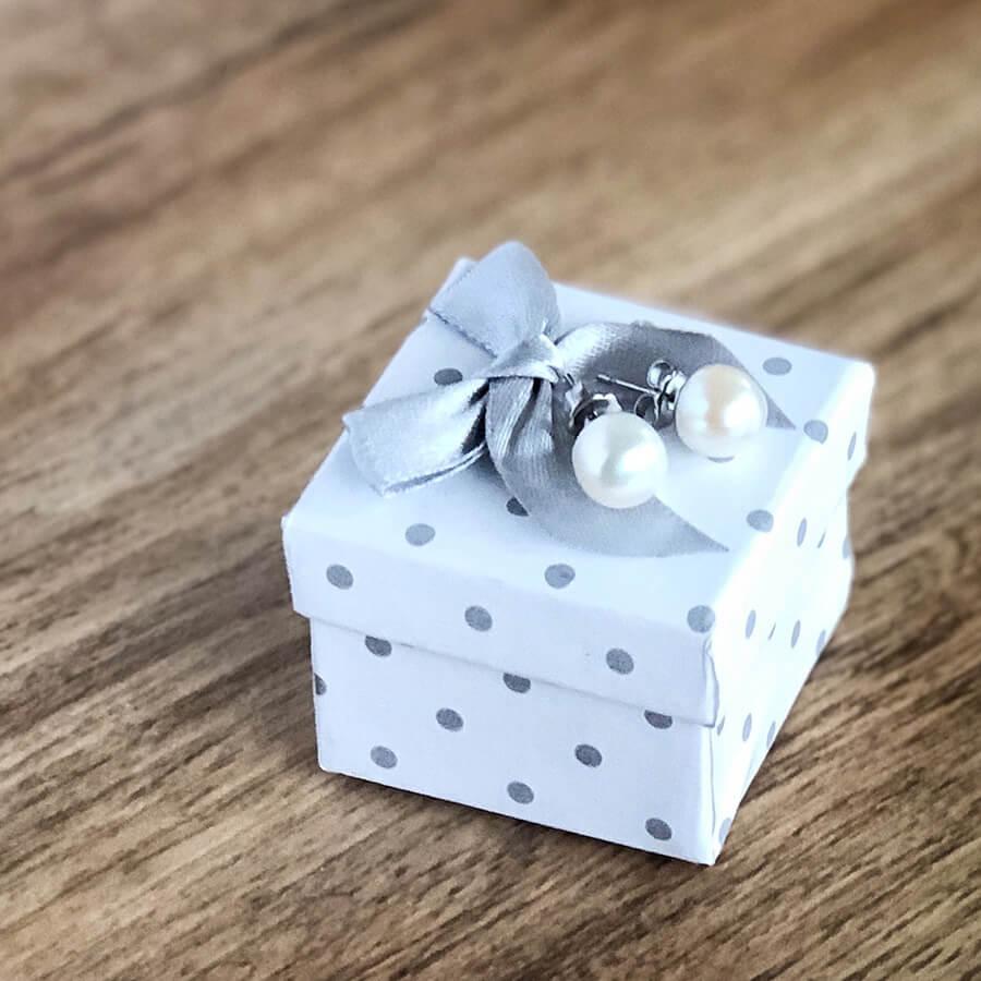 Náušnice z pravých perel